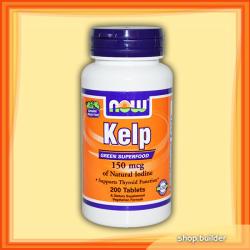 NOW KELP tabletta - 200 db