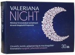 VALERIANA Night kapszula - 30 db