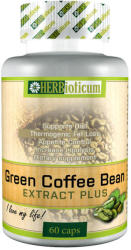 HERBioticum Green Coffee Bean Extract Plus - Zöldkávébab+Króm kapszula - 60 db