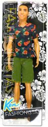 Mattel Barbie - Fashionstas - Ken baba virágos felsőben