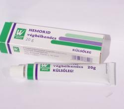 Wagner Pharma Hemorid Kenőcs 20g