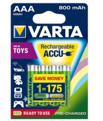 VARTA Toys AAA 800mAh (4)