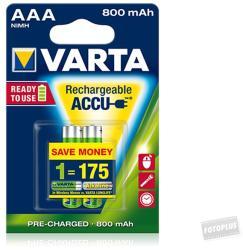 VARTA Ready2Use AAA 800mAh (2) (56703101402)