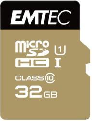 EMTEC Gold+ microSDHC 32GB Class 10 ECMSDM32GHC10GP