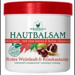 Herbamedicus Vadgesztenye Vörös szőlőlevél balzsam 250ml