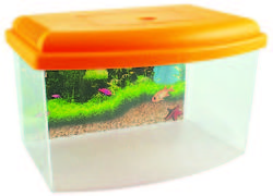 COBBY'S PET Műanyag akvárium (5L/28x20x17,5cm)