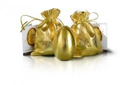 Golden Choco Egg Delux Ékszerrel (25g)