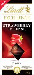 Lindt Excellence Strawberry Intense étcsokoládé (100g)