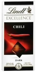 Lindt Excellence Chili étcsokoládé (100g)