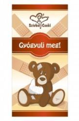 Szívből Csoki Gyógyulj Meg! (100g)