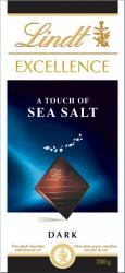 Lindt Excellence Sea Salt étcsokoládé (100g)