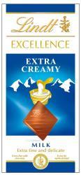 Lindt Excellence Extra Creamy tejcsokoládé (100g)