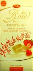 dia Rose Diabetikus Epres Fehércsokoládé (100g)