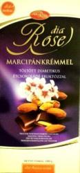dia Rose Diabetikus Tejcsokoládé Marcipánkrémmel (100g)