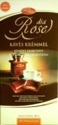 dia Rose Diabetikus Tejcsokoládé Kávés Krémmel (100g)