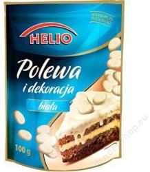 HELIO Fehércsokoládé Dekor Tortabevonó Máz (100g)