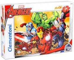 Clementoni SuperColor Maxi Puzzle - Bosszúállók 24 db-os (24037)