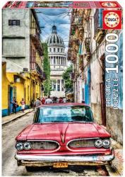 Educa Veterán autó Havannában 1000 db-os (16754)