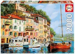 Educa La barca rossa alla calata, Borelli 2000 db-os (16776)