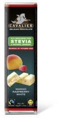CAVALIER Fehércsokoládé Mangóval És Málnával Steviával Édesítve (40g)