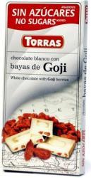 TORRAS Goji Bogyós Fehércsokoládé (75g)