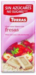 TORRAS Epres Fehércsokoládé (75g)