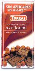TORRAS Mogyorós Tejcsokoládé (75g)