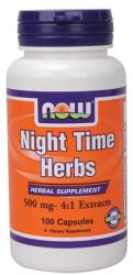NOW Night Time Herbs kapszula - 100 db