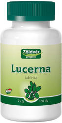 Zöldvér Lucerna tabletta - 150 db