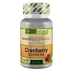 HERBioticum Cranberry Supreme vörösáfonya-kivonat tabletta - 60 db