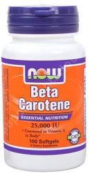 NOW Beta Carotene kapszula - 100 db