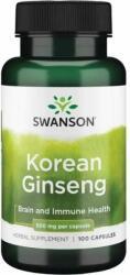 Swanson Koreai Ginzeng gyökér kapszula - 100 db