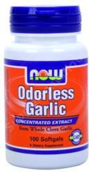 NOW Odorless Garlic kapszula - 100 db