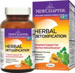 New Chapter Herbal Detoxification lágyzselatin kapszula - 60 db