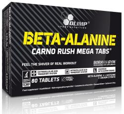 Olimp Sport Nutrition Beta-Alanine Carno Rush tabletta - 80 db