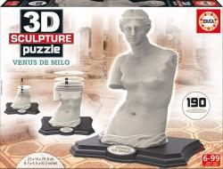 Educa 3D szobor puzzle - Miloi Vénusz 190 db-os (16504)