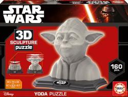 Educa 3D szobor puzzle - Yoda 160 db-os (16501)