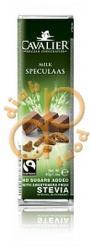 CAVALIER Tejcsokoládé Kekszdarabokkal (40g)