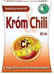 Dr. Chen Króm & Chili kapszula - 60 db