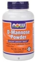 NOW D-Mannose Powder porkészítmény - 85g