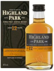 HIGHLAND PARK 12 Years Whiskey 0,05L 40%