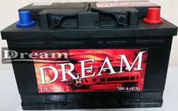 DREAM 75Ah 700A Jobb+