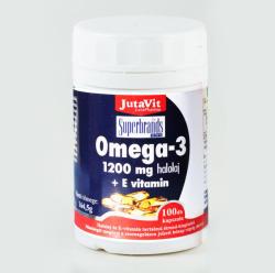 JutaVit Omega-3+E-vitamin kapszula - 40 db