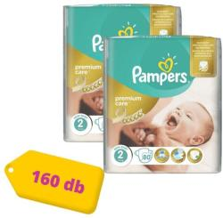 Pampers Premium Care 2 Mini (3-6kg) 160db