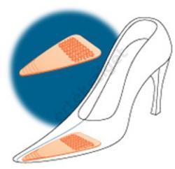 Comforsil Fashion vékony félbetét tyúkszem ellen CC242