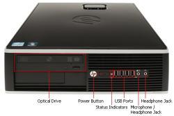 HP Compaq Elite 8200 XL510AV