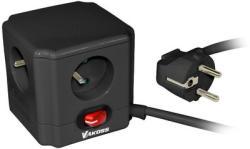 Vakoss 4 Plug 1,5m Switch (52-410S)