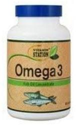 Vitamin Station Omega 3 halolaj gélkapszula - 90 db