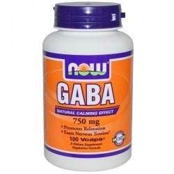 NOW GABA kapszula - 100 db