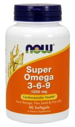 NOW Super Omega 3-6-9 kapszula - 90 db